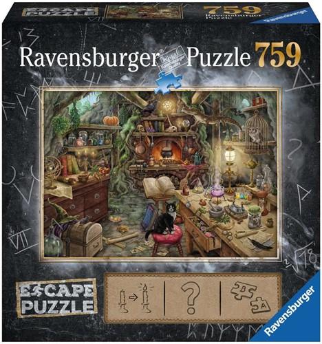 Escape 3 - De heksenkeuken Puzzel (759 stukjes)