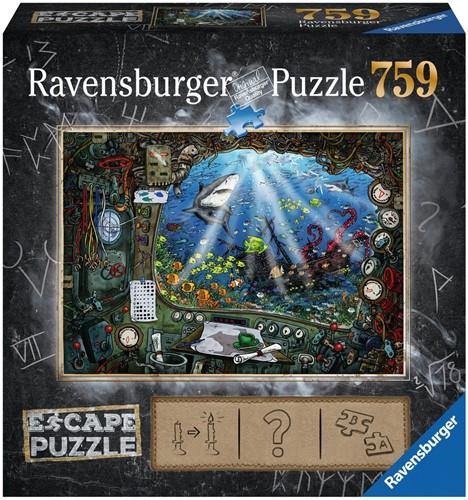 Escape 4 Submarine Puzzel (759 stukjes) (doos beschadigd)