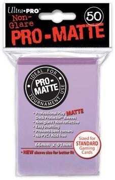 Sleeves Pro-Matte - Standaard Lila (66x91 mm)