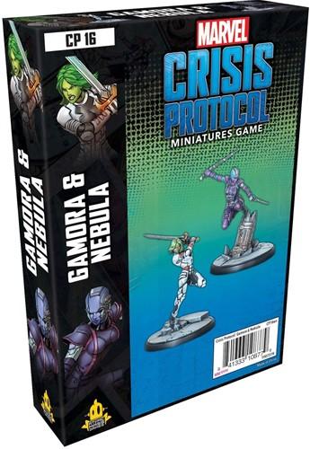Marvel Crisis Protocol - Gamora and Nebula