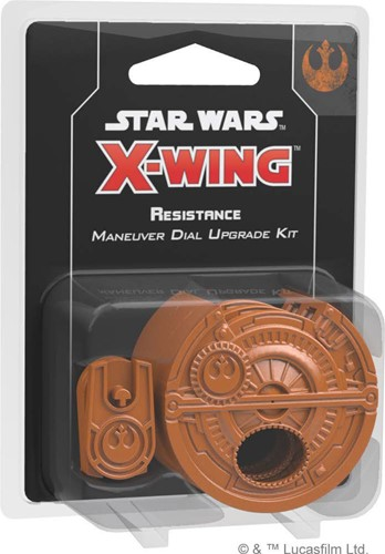 Star Wars X-Wing 2.0 Resistance Maneuver Dial Upgrade