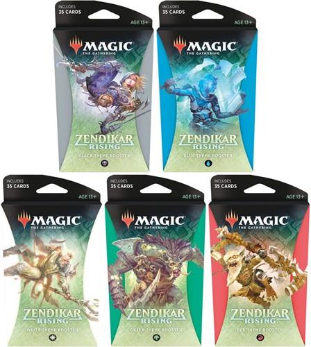 Magic The Gathering - Zendikar Rising Theme Booster