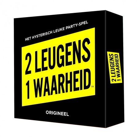 2 Leugens 1 Waarheid - Partyspel (Open geweest)