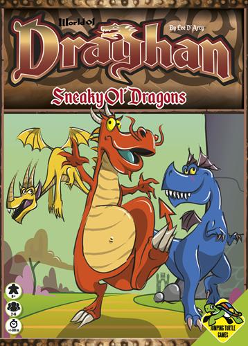 World of Draghan - Sneaky Ol' Dragons