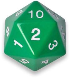 20-zijdige Dobbelsteen - 55mm Groen