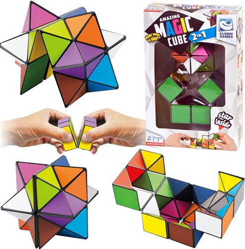 Clown Magic Cube 2-in-1
