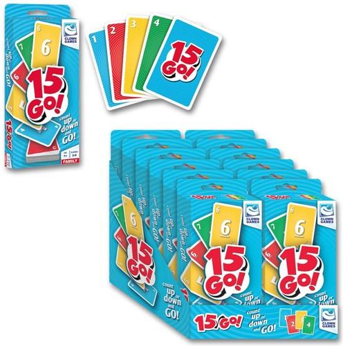 15 Go! - Kaartspel