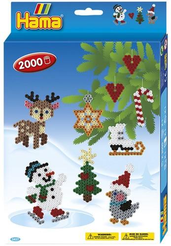 Hama - Kerst Strijkkralen (2000 stuks)