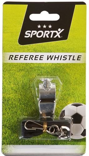 SportX - Scheidsrechterfluitje Metaal