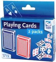 Clown Speelkaarten (2 stuks)