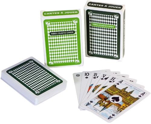 Clown Speelkaarten 100% plastic (2 stuks)-2