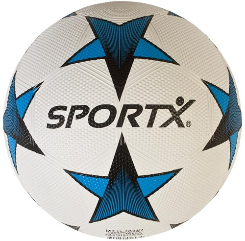 SportX - Rubber Voetbal Ster