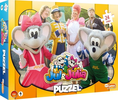 Jul & Julia Puzzel (24 stukjes)