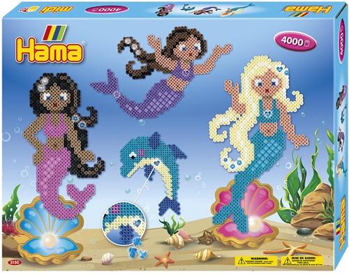 Hama - Zeemeerminnen Strijkkralen (4000 stuks) (alleen kralen)