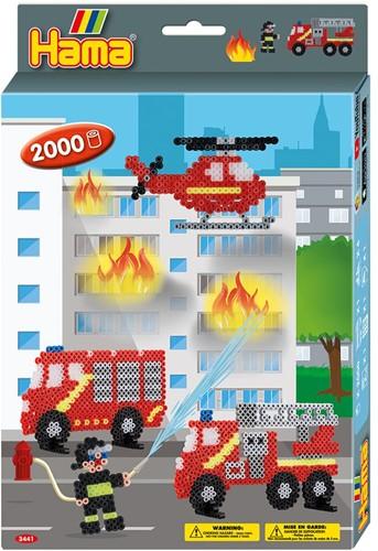Hama - Brandweer Strijkkralen (2000 stuks)