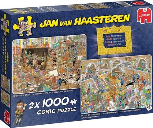 Jan van Haasteren - Een dagje naar het Museum Puzzel (2 x 1000 stukjes)