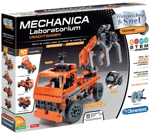 Mechanica - Vrachtwagen 10 in 1