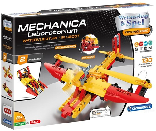 Mechanica - Watervliegtuig 2 in 1