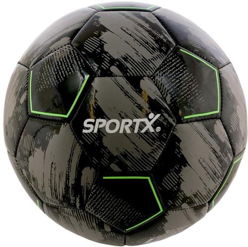 SportX Voetbal Grijs Zwart