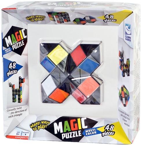 Clown Magic Puzzel - Multi Color