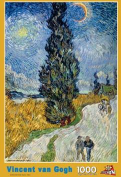 Landweg - Vincent van Gogh Puzzel (1000 stukjes)