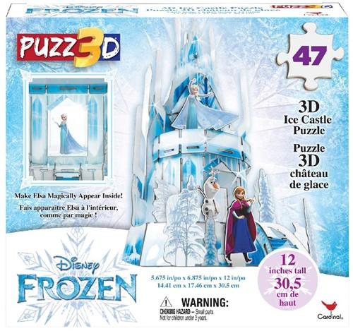 3D Puzzel - Frozen 2 Ice Palace (47 stukjes)