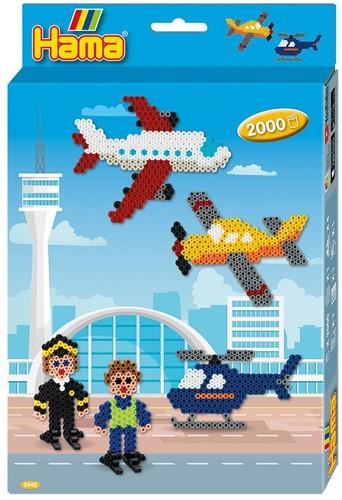 Hama - Vliegveld Strijkkralen (2000 stuks)