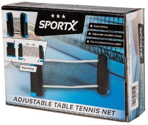 SportX - Tafeltennisnet Oprolbaar