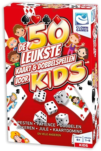 De 50 Leukste Kaart & Dobblspellen Voor Kids