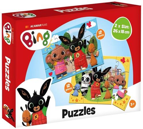 Bing Puzzel (2 x 12 stukjes)