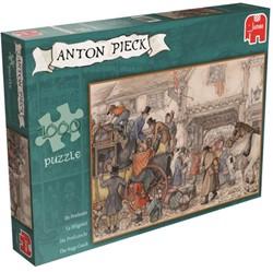 Anton Pieck - Postkoets Puzzel (1000 stukjes)