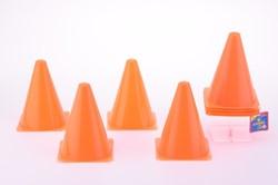 Oranje Pionnen 18cm (4 stuks)