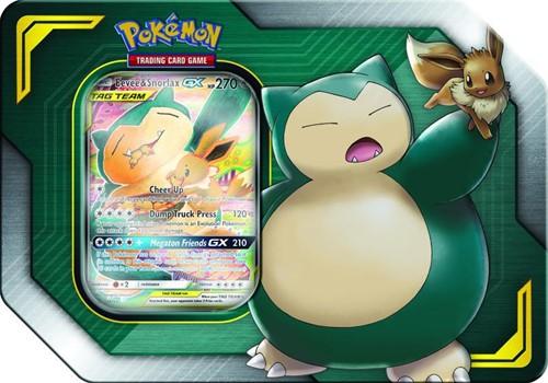 Pokemon Tag Team Tin Eevee & Snorlax-GX