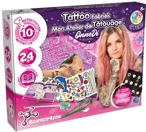 Science4You - OnneDi Tattoo Fabriek