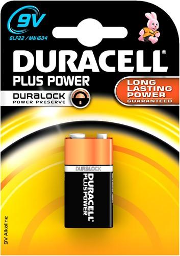 Duracell Plus Power MN1604 9 Volt
