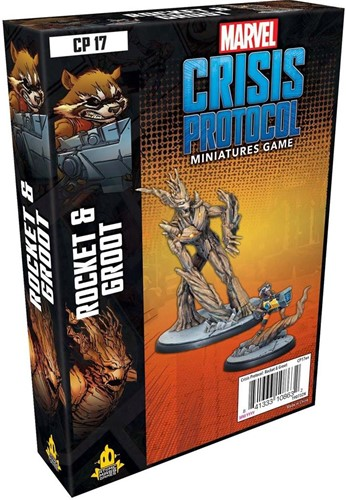 Marvel Crisis Protocol - Rocket and Groot