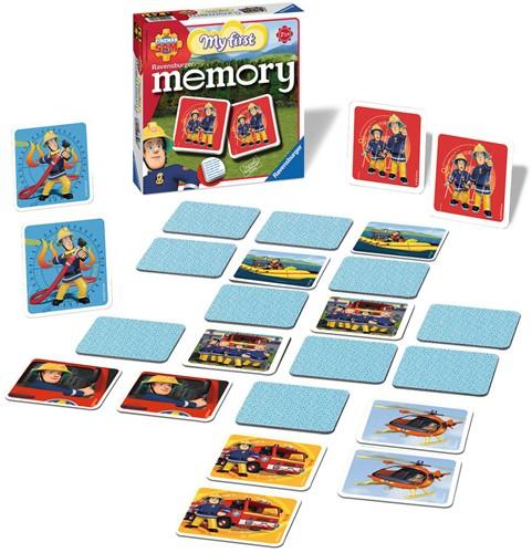 My first Memory - Brandweerman Sam-2