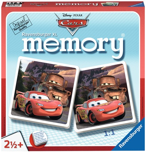 Cars Memory XL (Doos ingedeukt)