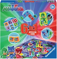 Spel 6 in 1 PJ Masks