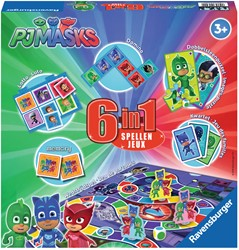 Spel 6 in 1 PJ Masks