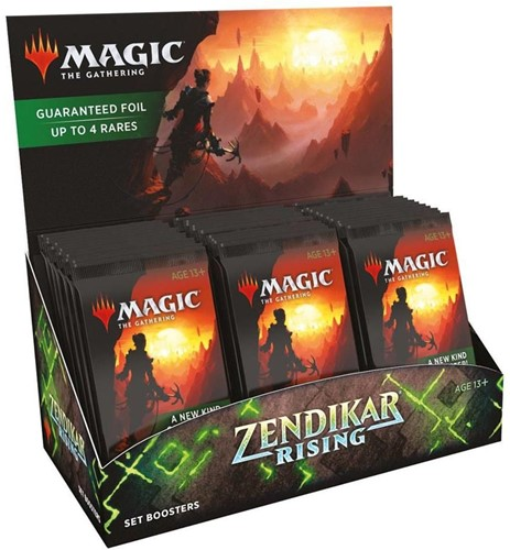 Magic The Gathering - Zendikar Rising Set Boosterbox