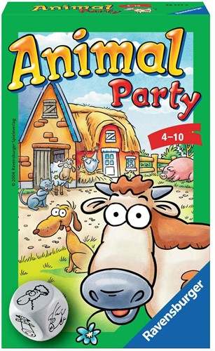 Animal Party - Dobbelspel
