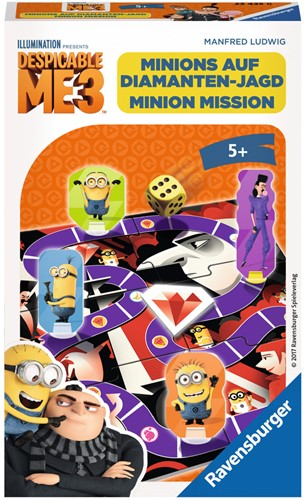 Minion Mission Pocketspel - Despicable Me 3