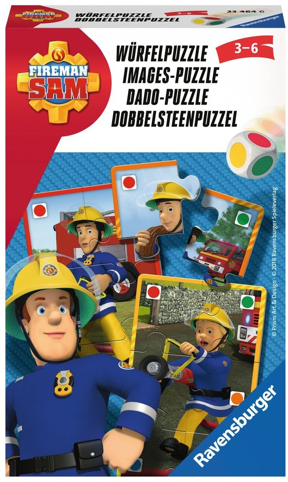 Fabulous Brandweerman Sam - Dobbelsteenpuzzel - kopen bij Spellenrijk.nl &UE81