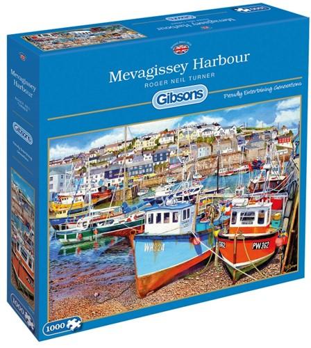 Mevagissey Harbour Puzzel (1000 stukjes)