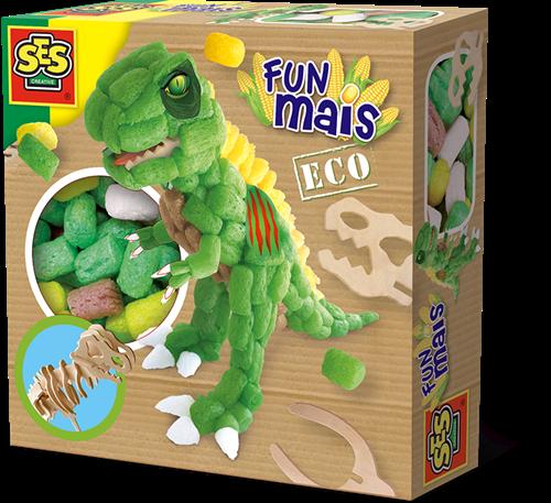SES - Funmais Dino met Houten Skelet
