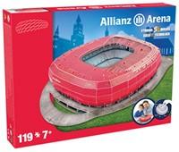 Bayern Munchen - Allianz Arena 3D Puzzel (119 stukjes)