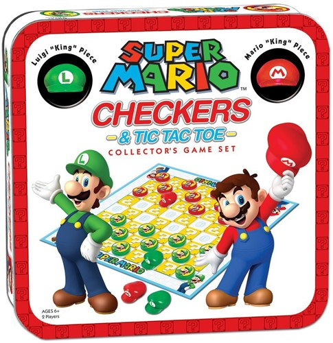 Super Mario - Combo Checkers & Tic Tac Toe