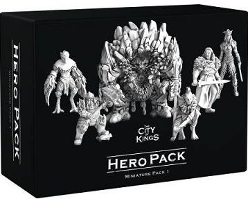 The City of Kings - Hero Pack