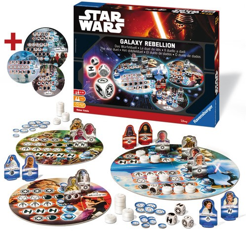 Star Wars Dice Battle Game-2